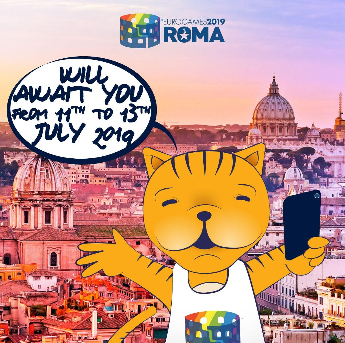 Roma will await you